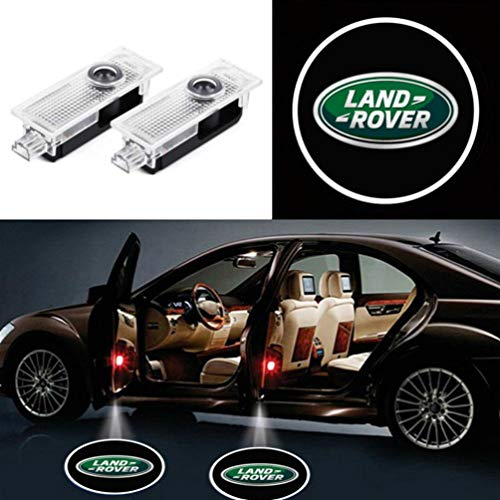 Crystal for Range Rover Freelander Discovery4 Evoque Car LED Projector Door Ghost Shadow Welcome Logo Light