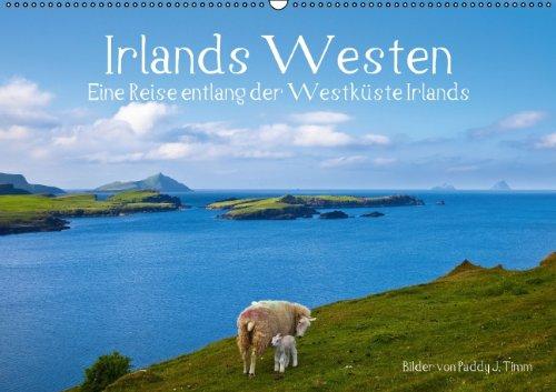Irlands Westen (Wandkalender 2014 DIN A2 quer): Eine Reise entlang der Westküste Irlands. (Monatskalender, 14 Seiten)