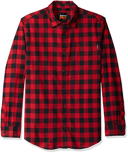 R Work Men's Buffalo Pro Shirt Classic Check Red Flannel value Timberland EAOwWR4TqR