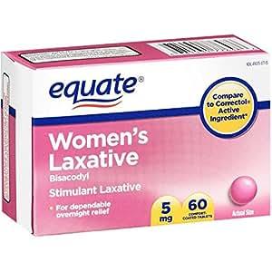 Amazon Com Equate Women S Laxative Tablets Bisacodyl 5