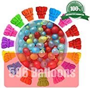 LPPKERY Water Balloons 16 Packs 592 Balloons Easy Quick Fill in 60 Seconds for Splash Fun Kids and Adults Part