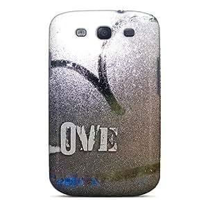 DaMMeke Perfect Tpu Case For Galaxy S3/ Anti-scratch Protector Case (love)