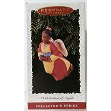 Celebration Angels Black 2nd in Series 1996 Hallmark Keepsake Ornament QX5634