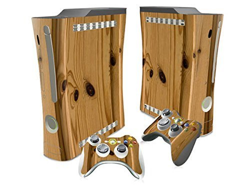 oocee-annual-ring-wood-skin-sticker-for-xbox-360-console-2-controller-skins