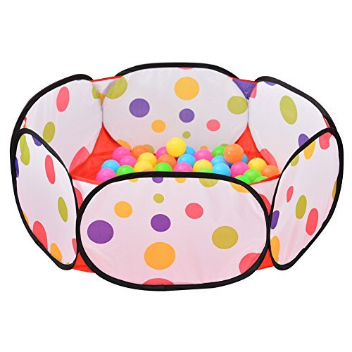 Sakiyr Kids Ball Pit Playpen Ball Play Pool Baby Ball Pool with 50 Balls by Sakiyr