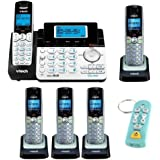 Vtech DS6151 2-Line Cordless Phone w/ Digital Ans Sys + Vtech Handsets + Handset Cord