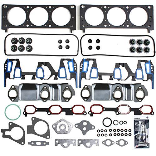 - CHG0080 Head Gasket Set for GM 3.4L V6 207 Buick Rendezvous Chevrolet Impala Monte Carlo LS Venture Pontiac Aztek Grand AM Montana Oldsmobile Alero Silhouette VIN E 00-03