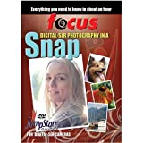 Focus Digital SLR Photography in a Snap Jumpstart Guide DVD