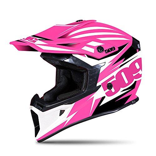 509 Tactical Snow Snowmobile Helmet - Pink - Pink Black & White - 509-HEL-TPI-_ ()