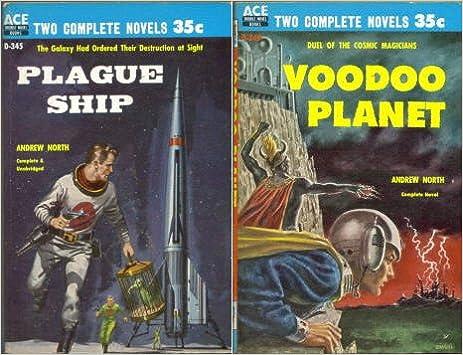 Book Plague Ship / Voodoo Planet (Classic Ace Double, D-345)