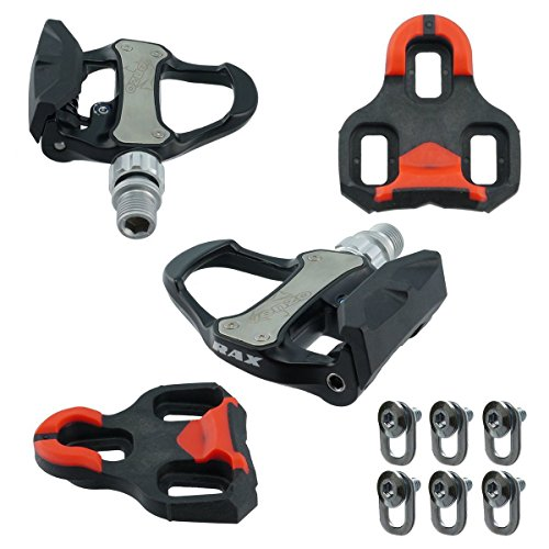 Venzo Road Bike Look Keo compatible Sealed Pedals