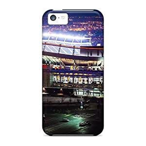 TYHH - Case Cover, Fashionable Iphone 5/5s Case - Denver Broncos Stadium At Night ending phone case