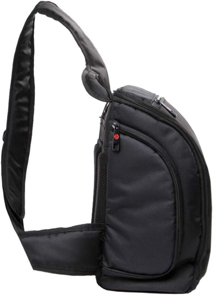 Samsung Huawei Si SJCAM Xiaomi Xiaoyi YI Canon Nikon Apple Protective Camera Bag Portable Scratch-proof Outdoor Sports Sling Shoulder Bag Chest Pack Micro Single Camera Bag Phone Bag for GoPro