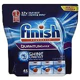 Kyпить Finish Quantum Max Powerball Dishwasher Detergent Tablets,  45 Count на Amazon.com