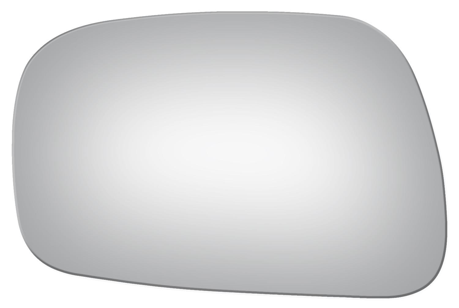 2002 - 2006 Toyota Camry Usa Built Flat Driver Left Side Replacement Mirror Glass Burco Burco 2942