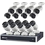 NVR24-7500 24 Channel 5MP Super HD HD Network Video Recorder and 16 x NHD-850 5MP Cameras