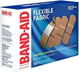 Band-Aid Adhesive Bandages, Flexible Fabric, All