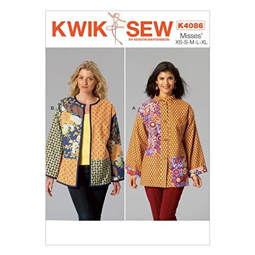 KWIK-SEW PATTERNS K4086 Misses' Jackets