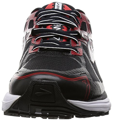 7 Brooks Black Running High Men's Red Risk Silver Shoe Ravenna qqwSE1T