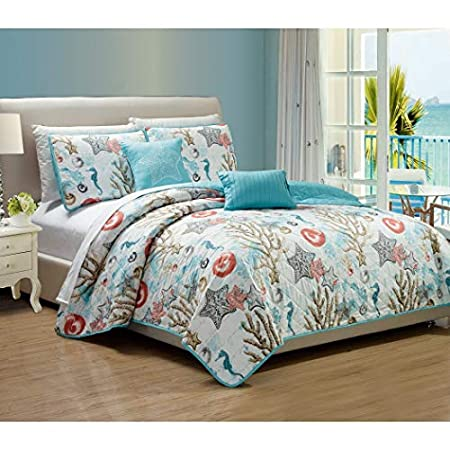 513Il2gSFvL._SS450_ Coral Bedding Sets and Coral Comforters