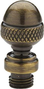 Baldwin 1093050I Steeple Tip Hinge Antique Brass