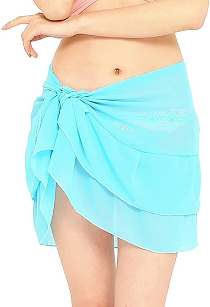 Yueunishi Falda de Playa Vestir Mujer, Mujeres Traje de Baño ...