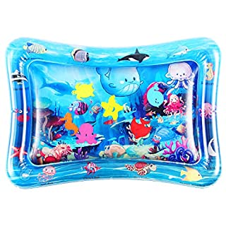 Tummy Time Baby Water Play Mat Toys for 3 6 9 Months, The Perfect Fun Toy for Infant Early Development Activity Centers