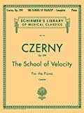 Carl Czerny  The School Of Velocity Op.299 (Complete) Pf (Schirmer's Library of Musical Classics)