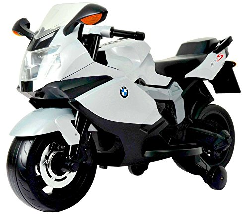 Best Ride On Cars BMW Ride On Motorcycle 12V, White, used for sale  Delivered anywhere in USA