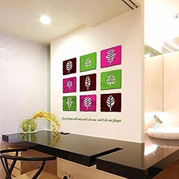 Kreative Wandgestaltung, Abnehmbare Wand Aufkleber Home Decor Aufkleber  Haus Dekoration Für Das Kinderzimmer Kinderzimmer Esszimmer