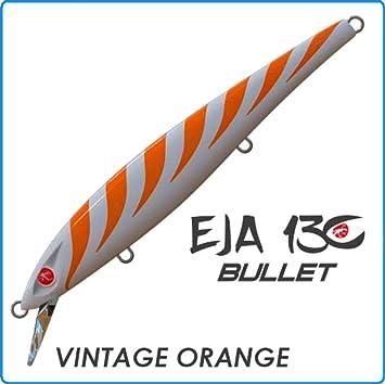Seaspin Artificial EJA Vintage Orange 130 mm 28 g Spinning Barracuda Spigola: Amazon.es: Deportes y aire libre