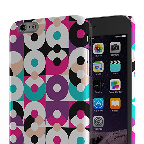 Koveru Back Cover Case for Apple iPhone 6 Plus - Hearts Geometric