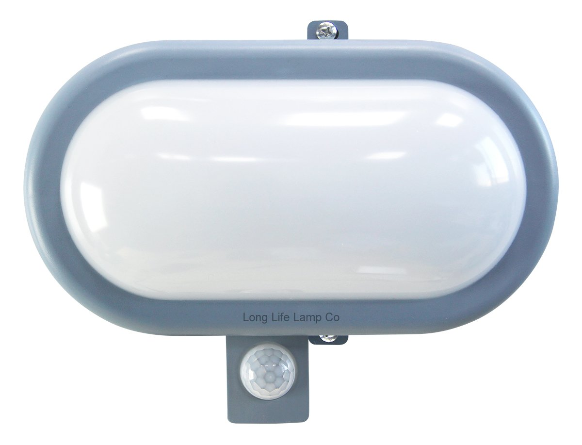 PIR Movement Sensor 10W LED BULKHEAD Light Outdoor Security Wall Light 6000K eBay
