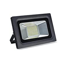 SOLLA 30W Super Bright LED Flood Light Outdoor Security Lights, 2250lm, 144LEDs,Warm White, 3500K, Waterproof Spotlight
