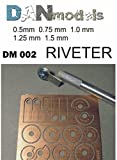 REVITERS FOR IMITATION RIVETING (5 DISCS WITH DIFFERENT ''RIVETING'' STEPS)1/35 DAN MODELS 002