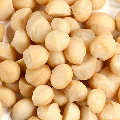 Macadamia Nuts (Raw & Unsalted), 25 lbs. by Grab Your Nutz
