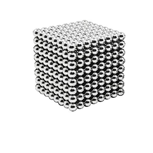 HBDeskToys 5MM Magic Ball Set for Office Stress Relief |Desk Sculpture Toy Perfect for Crafts, Jewelry, Education |Fidget Cube Provides Relief for Anxiety, ADHD, Autism, Boredom by HBDeskToys (Image #6)
