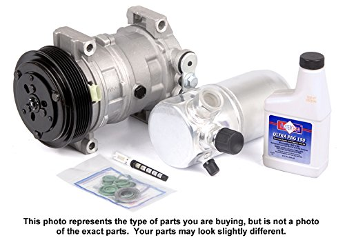 Complete Ac A/C Repair Kit With New Compressor & Clutch For Kia Sportage - BuyAutoParts 60-81134RK New