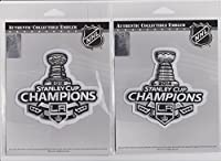 2012 & 2014 NHL Stanley Cup Final Champions L.A. Los Angeles Kings Patch Combo