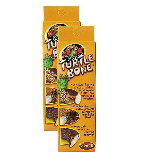 Zoo Med Laboratories SZMTB1 Turtle Bone, 4 (Foods Bone Calcium)