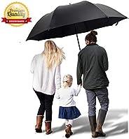 Golf Umbrella 60 Inch Automatic Open Extra Large Big Windproof Waterproof Sun Rain Protection Stick Umbrella T