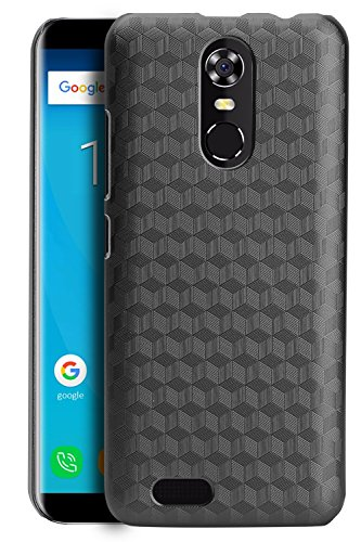 OUKITEL C8 Case Cover, CiCiCat Slim Hard PC Back Cover Shell Case, [360 degree Drop-proof] Stylish Strong Thin Protective Case for OUKITEL C8 Smartphone (Black, OUKITEL C8 5.5'')