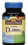 #6: Nature Made Vitamin D3 2,000 IU LSG, 320 ct.