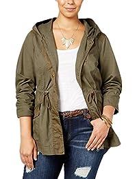 Womens Plus Zipper Long Sleeves Jacket