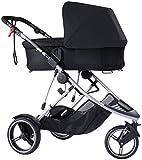 phil&teds Snug Carrycot for Dash Stroller, Black