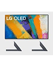 "LG OLED65GXP 65"" OLED Gallery Design Smart 4K Ultra High Definition Smart TV with a LG AN-GXDV65 OLED GX 65"" Furniture & Shelf Top TV Stand Mount (2020)"