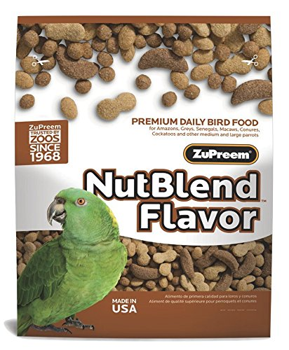 Image of ZuPreem Premium Nutritional Products Nut Blend Bird Food 17.5 Lb