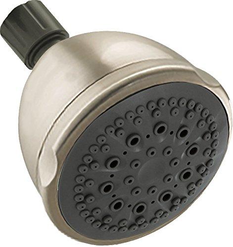 Nickel Satin Handshower - Peerless 76563SN 5-Spray/Massage Shower Head, Satin Nickel