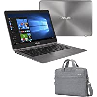 ASUS ZenBook Flip UX360UA-DS51T (i5-7200U, 8GB RAM, 256GB SATA SSD, 13.3 FHD, Windows 10) Touchscreen Laptop + EOS Carry Bag