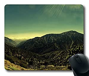 Mountainscape Panorama Mouse Pad Desktop Laptop Mousepads Comfortable Office Mouse Pad Mat Cute Gaming Mouse Pad